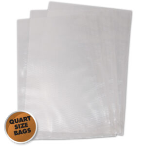 Weston Quart 8 x 12 Vacuum Bags (100 Bags/Pack)