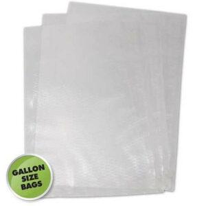 """Weston Gallon 11"""" x 16"""" Food Vacuum Bags (100/pack)"""