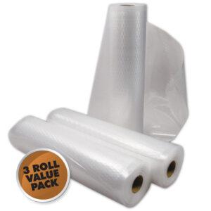 Weston 8 x 22 ft Vacuum Sealer Roll - 3 pack