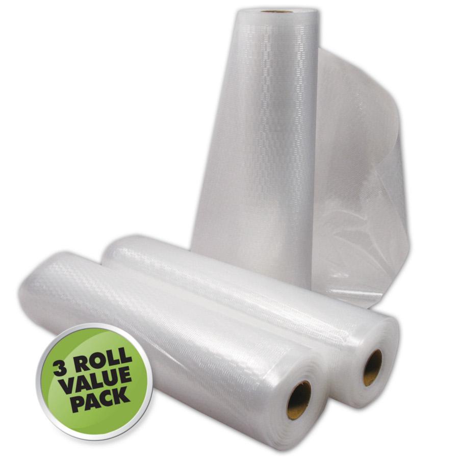 Weston 11 x 18 ft Vacuum Sealer Roll - 3 pack food vacuum rolls
