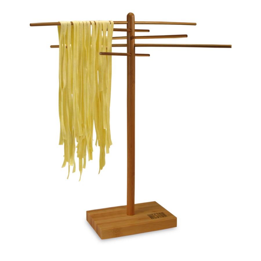 Weston Bamboo Pasta Drying Rack