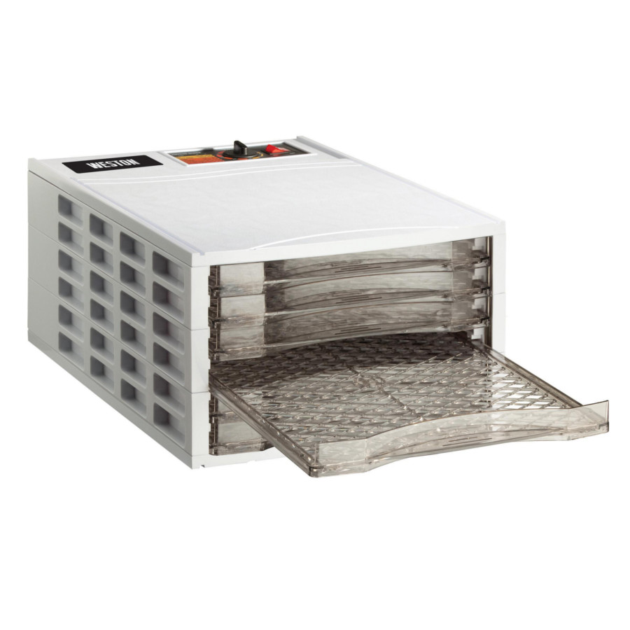 Weston 6 Tray Horizontal Airflow Food Dehydrator