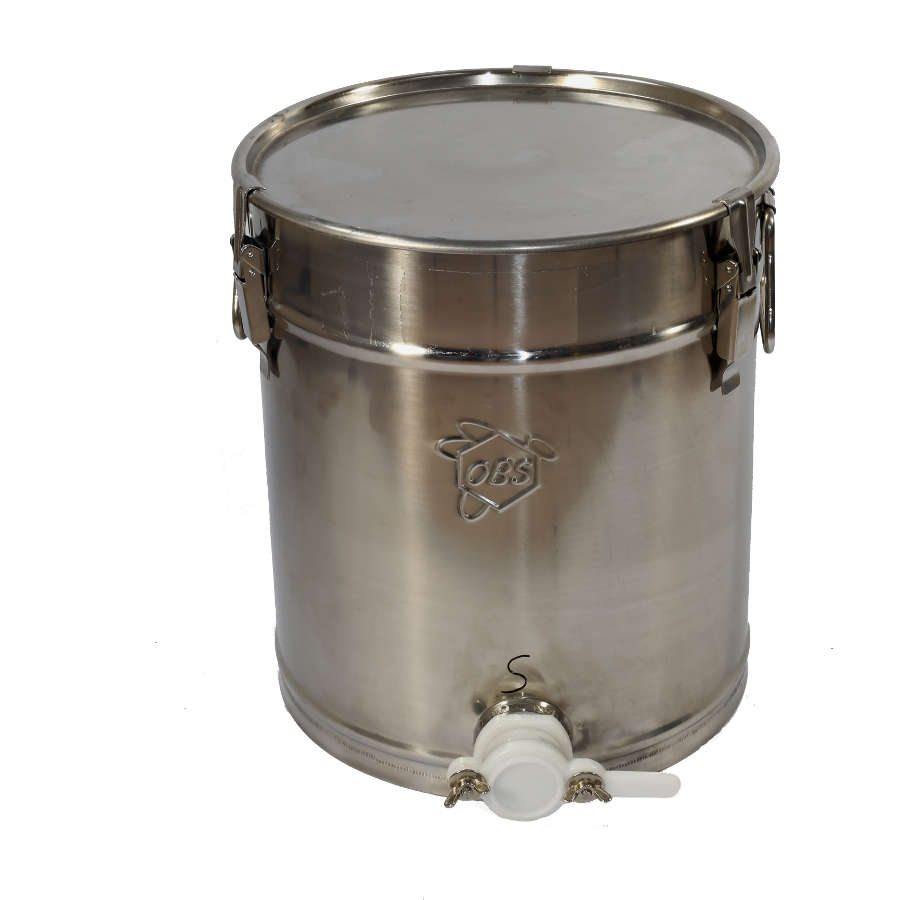 30kg Honey Tank - Stainless Steel