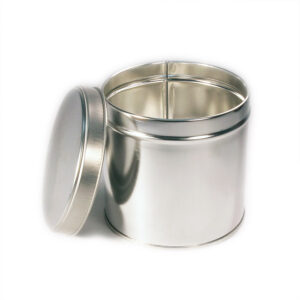 Wells Can Specialty Tin Canister 1kg Slip Cover