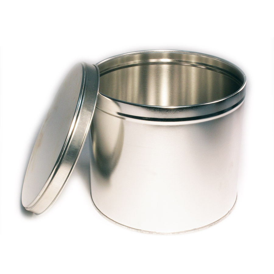 Wells Can Specialty Tin Canister 2kg Slip Cover