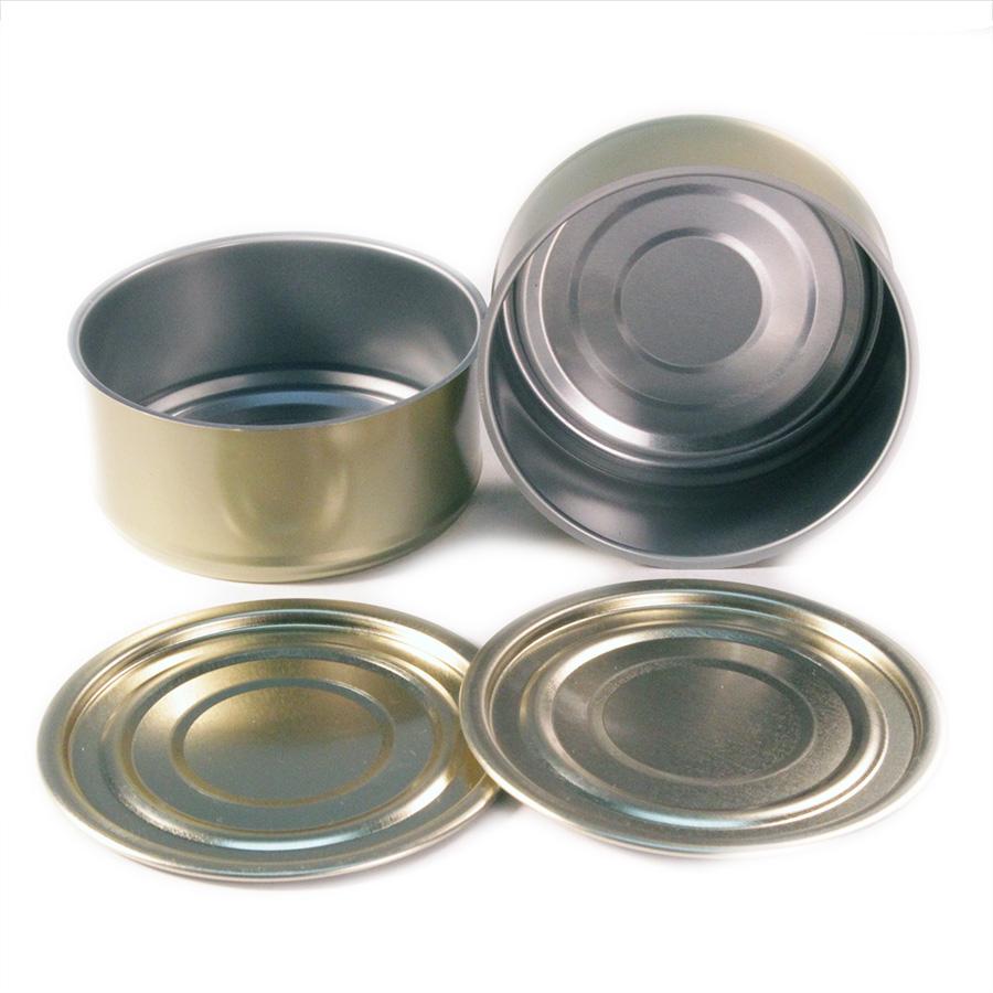 4oz Tuna Cans & Regular Lids