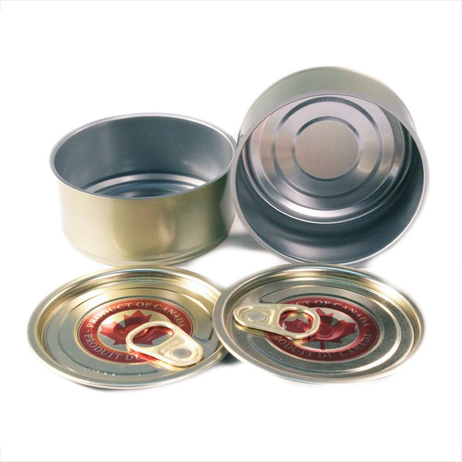 4oz Tuna Cans & Maple Leaf EZO Lids