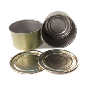 8oz (1/2lb) Tapered Salmon Cans & Regular Lids