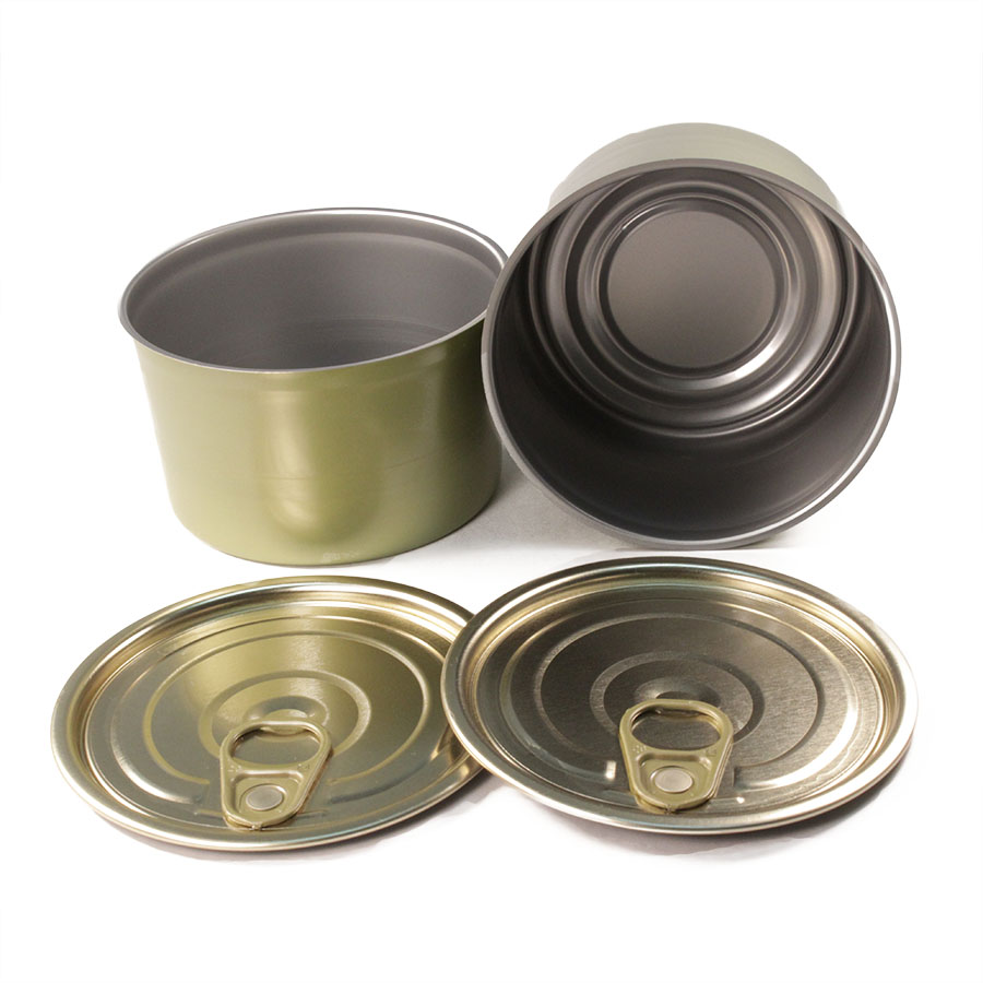 8oz (1/2lb) Tapered Salmon Cans & EZO Lids