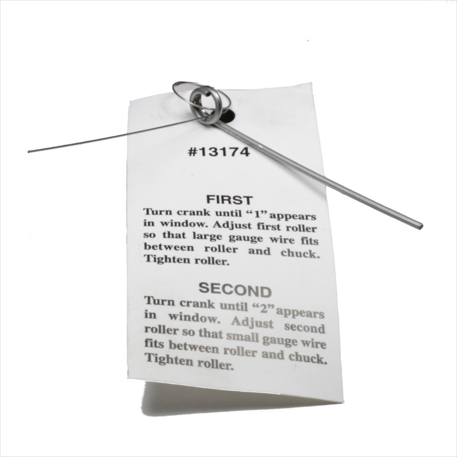 Ives-Way Adjusting Gauge Wire Set