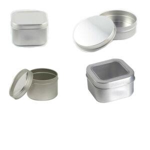 Slip Cover Tins