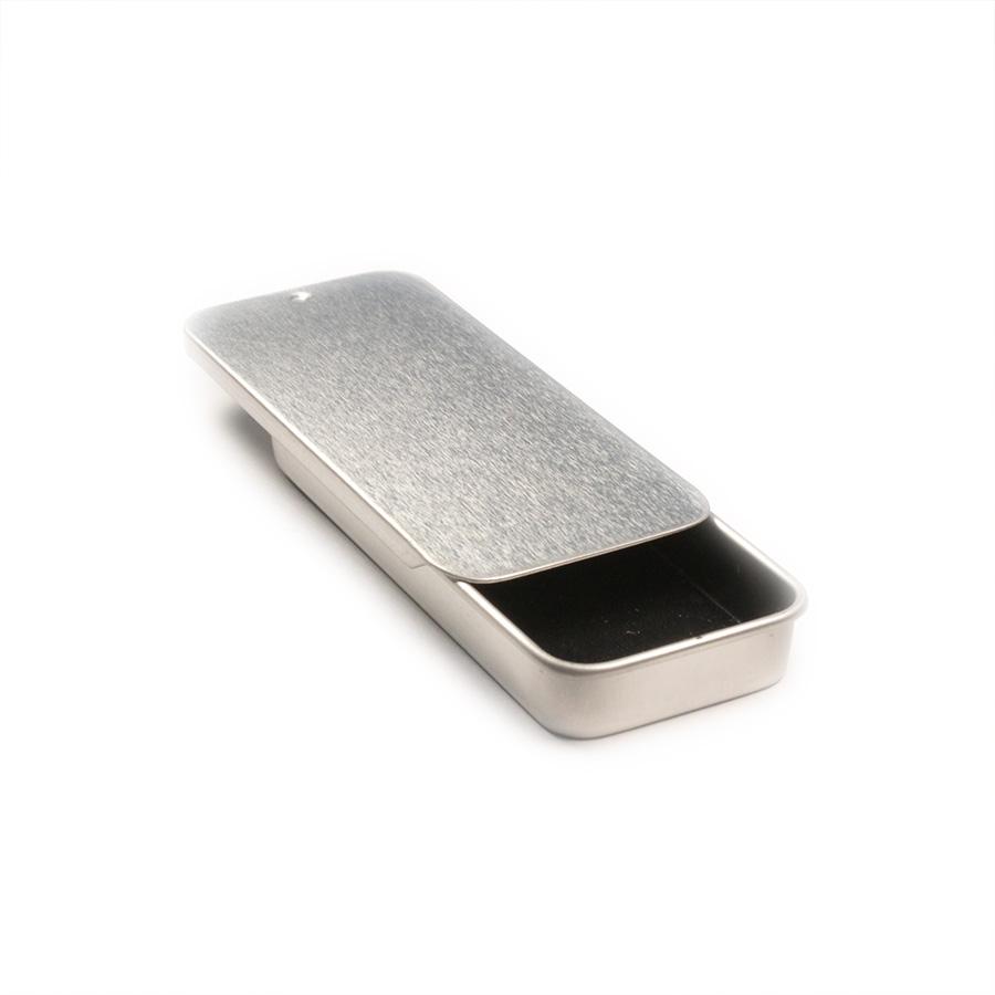 Large cosmetic seamless slider tin