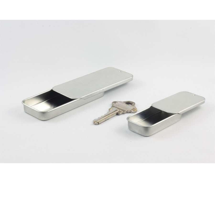 Small and Large Seamless Rectangular Slider Tins