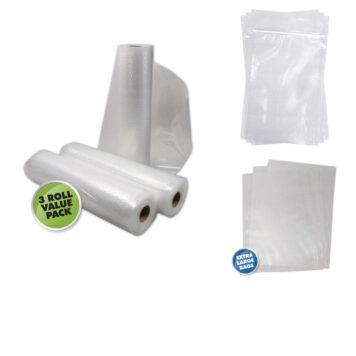 Food Vacuum Sealer Bags & Rolls