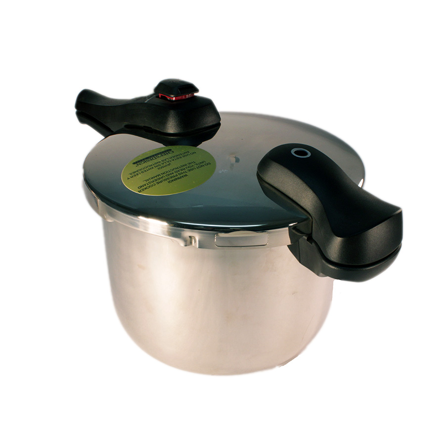 Chef's Design D8 8.5L/9Qt Stainless Steel Pressure Cooker