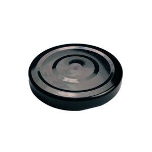 Black Glass Jar Closure Lid 63TW