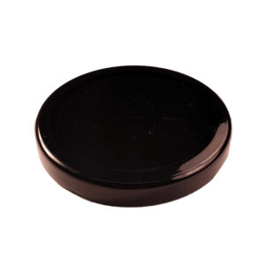 Black Glass Jar Closure Lid 70TW