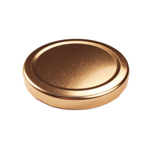 Gold Glass Jar Closure Lid 70TW