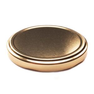 Gold Glass Jar Closure Lid 82TW