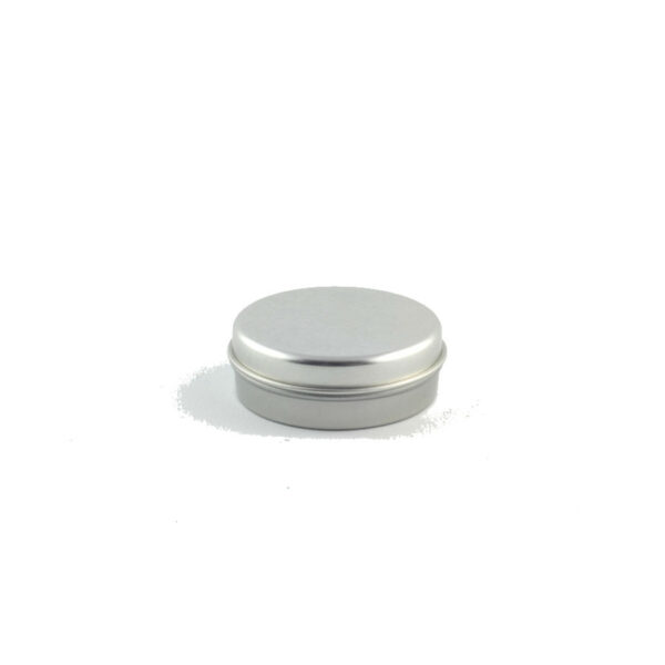 1oz Dome Top Metal Tin Can Slip Cover Lid