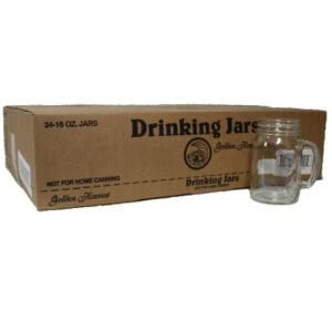 Bernardin 16oz RM Drinking Jar Mugs (24pk)