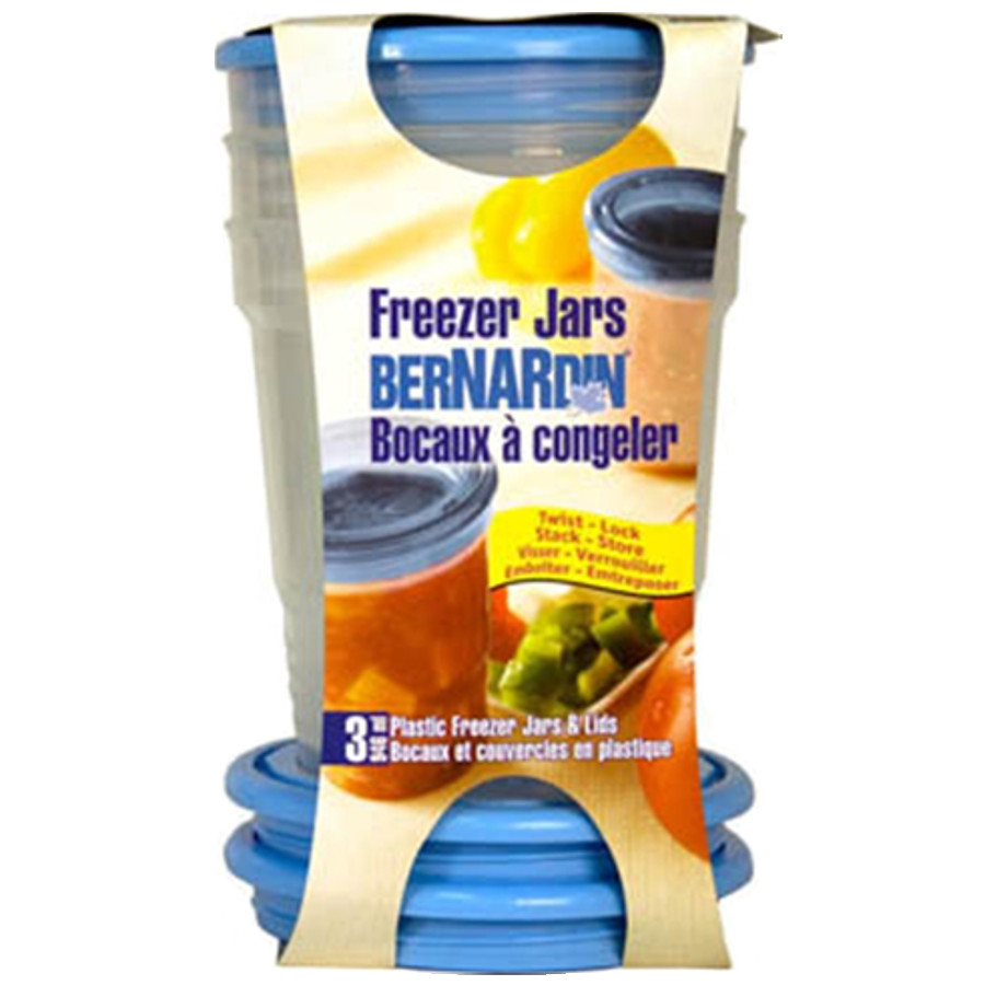 Bernardin 946 ml Plastic Freezer Jars (3pk)