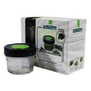 Bernardin 4 Pack Dry Herb Jars