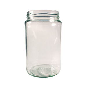 Glass 750ml Round Glass Jar