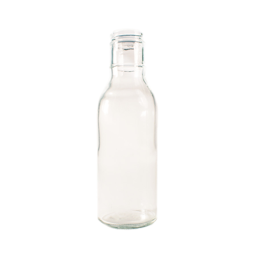 Glass 12oz Sauce Bottle