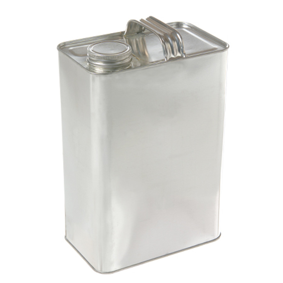 One Gallon Oblong F-Style Solvent Can