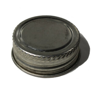 1 1/4 inch alpha plain steel screwcap closure