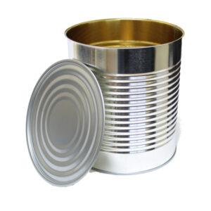 100oz Food Cans & Regular Lids (#10)