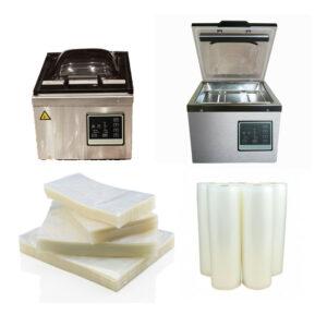 Chamber Vacuum Flat Bags & Rolls