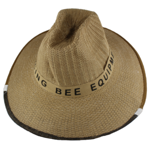 Dancing Bee Straw Hat Veil