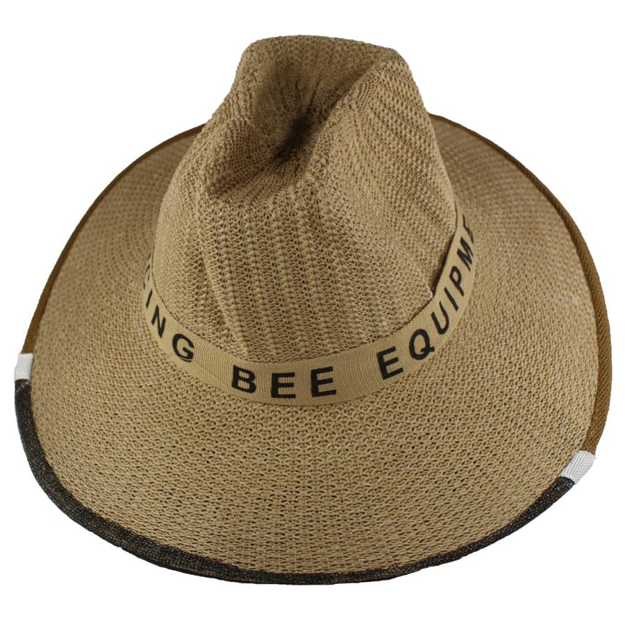 Dancing Bee Straw Hat Veil