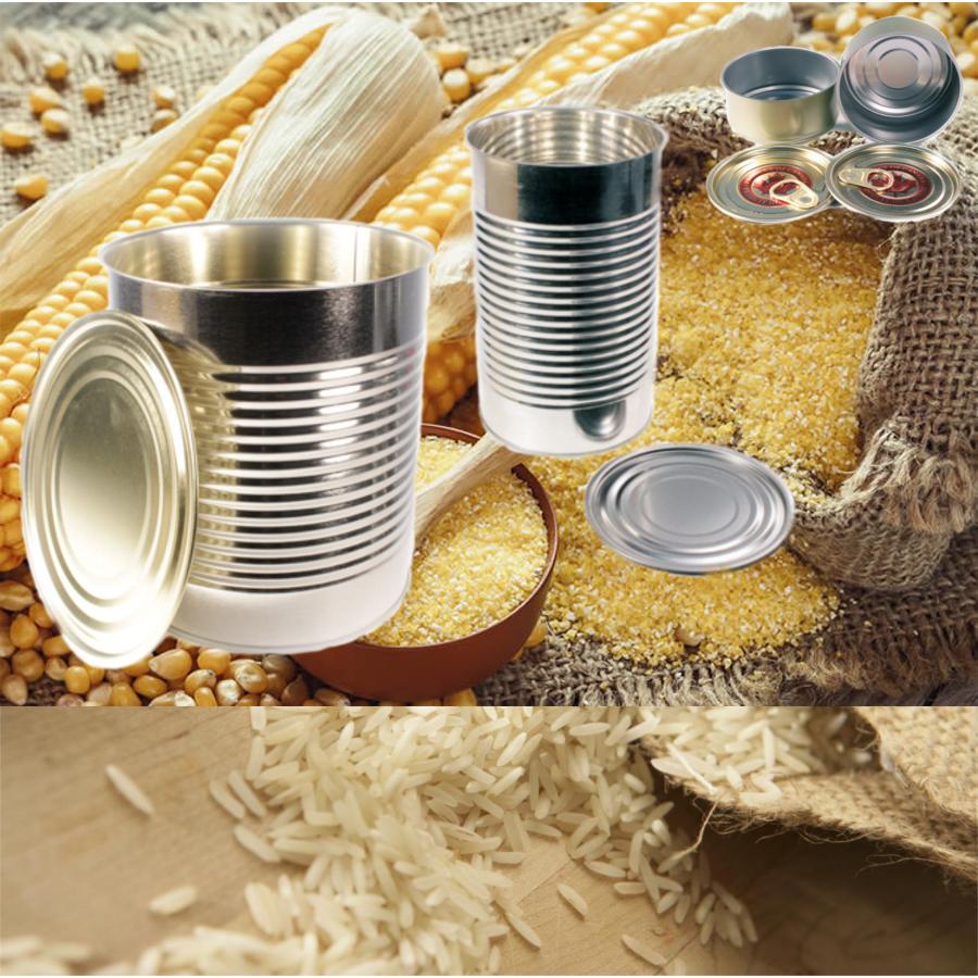 Grains, Herbs & Bulk Dry Pack Cans