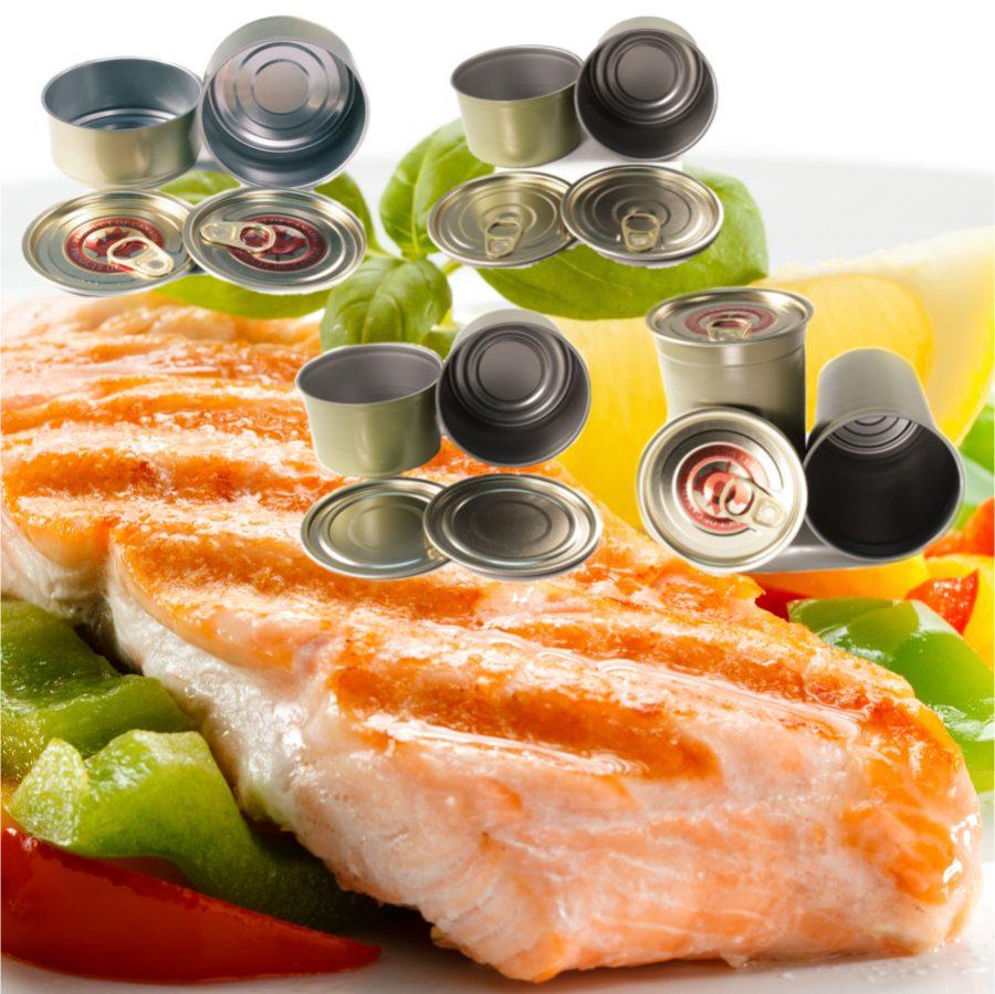 Seafoods, Salmon & Tuna Fish Cans