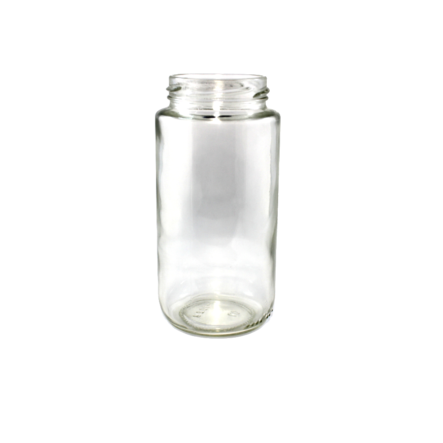 wellscan-375ml-tall-clear-glass-jar-ct58-lug-lid-A