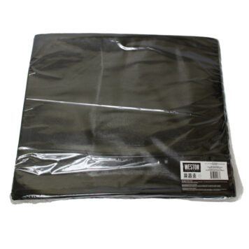 "Weston 15""x18"" Black&Clear Vacuum Bags - 100 count"