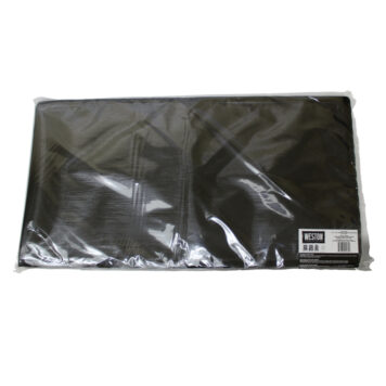 "Weston 11.5""x22"" Black&Clear Vacuum Bags - 100 count"