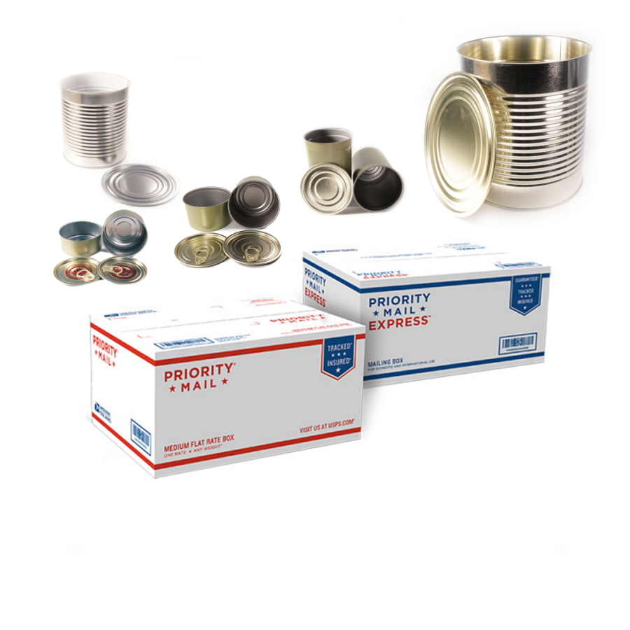Metal Food Can Packs USA Special Shipping