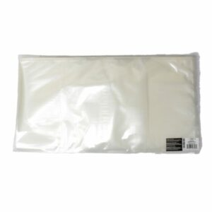 Weston 11.5″x22″ Clear&Clear Vacuum Bags – 100 count