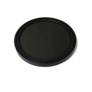 Black Plastic Overcaps for 301 metal food cans