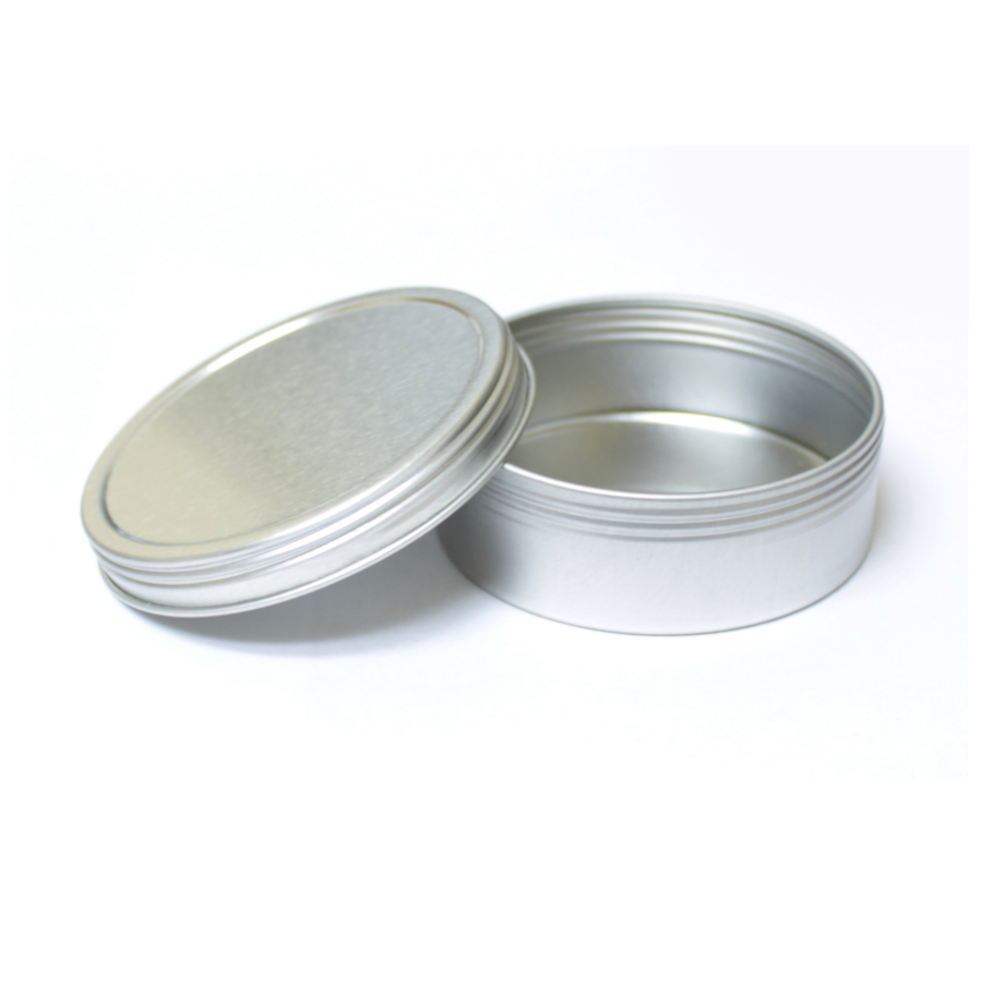 4oz Flat Screw Top Tin - Single