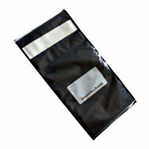 """SNS3000 11""""x23"""" Precut Black/Clear 3mil Barrier Vac Bags 50pk"""