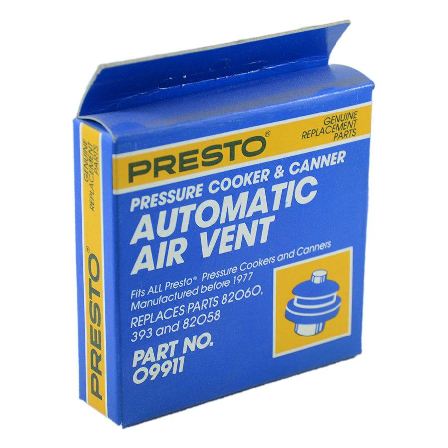 Presto Automatic Air Vent - Prior to 1987