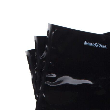 "Shield N Seal 15""x20"" Black-Black Pre-Cut 5mil Vac Bag"