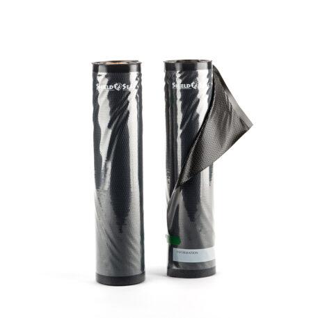 "Shield N Seal 11""x19.5' Black-Clear 5mil Vacuum Roll"