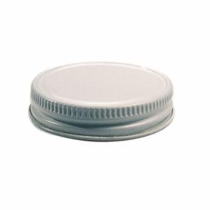 White Metal 63-400 Lid with standard Plastisol Liner