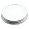 53-400 CT White Metal Plastisol Lid